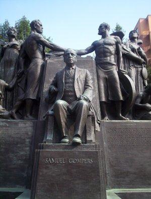 Gompers memorial detail, Washington D.C.