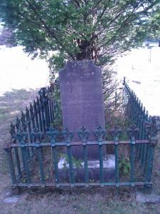 Thomas Potter's grave