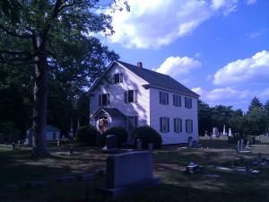 Chapel, exterior shot
