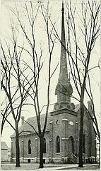 Universalist Church, Manchester, Iowa (before 1911)