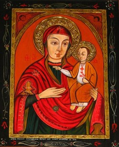 Copy of Theotokos icon of Máriapócs