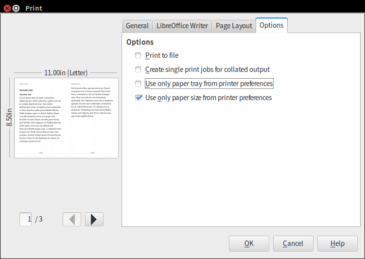 how to turn one page landscape in google docs